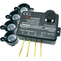 Samochodowy odstraszacz kun, łasic i gryzoni Kemo M094, sposób na pogryzione kable