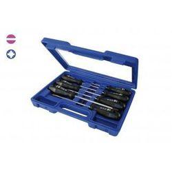NAREX Zestaw wkrętaków PROFI LINE w plastikowej walizce - 7szt, płaskie, PZ 862402 (ZNALAZŁEŚ TANIEJ - NEGOCJUJ CENĘ !!!)