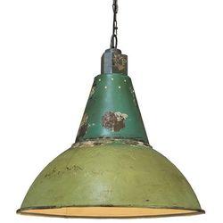 Lampa wisząca Oxidise antyczna zieleń
