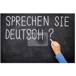 Fototapeta Nauka języka niemieckiego