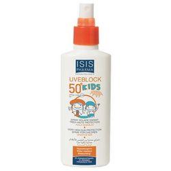 Isis Pharma - Uveblock Kids Spray SPF 50 - Spray przeciwsłoneczny SPF 50+ dla dzieci - 150 ml