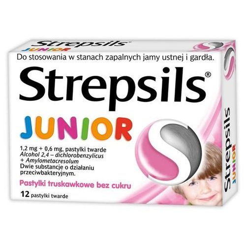 Strepsils Junior, pastylki, 24 sztuk