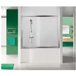 SANPLAST drzwi nawannowe TX5 150 wnękowe szkło W0 (parawan) D2-W/TX5b-150 600-271-1550-38-401