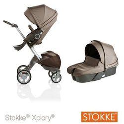 Stokke ® Xplory Głęboko-Spacerowy Brown