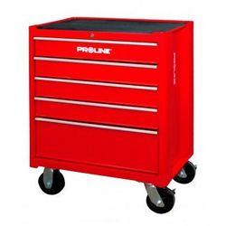 PROLINE Wózek warsztatowy 5 szuflad, 688x458x735mm 33105 (ZNALAZŁEŚ TANIEJ - NEGOCJUJ CENĘ !!!)