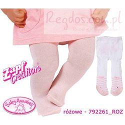 Baby Annabell Rajstopki Dla Lalki 2pary Różowe