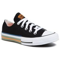 Trampki CONVERSE - Ctas Ox 167636C Black/Total Orange/Street Sage