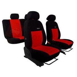 Pokrowce samochodowe ELEGANCE Czerwone Peugeot 306 II 1997-2003 - Czerwony