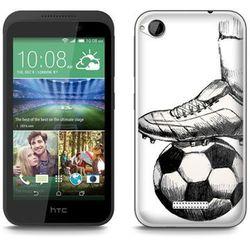 Fantastic Case - HTC Desire 320 - etui - football