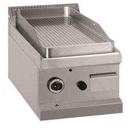 Płyta grillowa stołowa - gazowa, ryflowana, linia 700 MBM