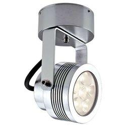 Zewnętrzna LAMPA ścienna GZ/ELITE3/L CLEAR Elstead reflektorowa OPRAWA sufitowa PLAFON LED 6W IP54 outdoor aluminium