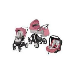 Wózek wielofunkcyjny 3w1 Lupo Dotty + Leo Baby Design (różowy)