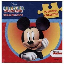 Klub Przyjaciół Myszki Miki Upalne lato. Puzzlowa książeczka (opr. twarda)