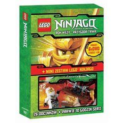 Lego Ninjago. Części 1-6 + gadżet (DVD) -
