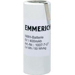 Pakiet akumulatorów NiMH Emmerich 1007-7-LF, 6 V, 400 mAh