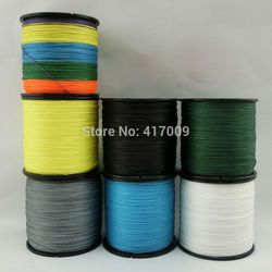 2015 New Simon Brands Multifilament PE Braided Line 100meters Super Strong fishing line 4 Stands 10LB-100LB Free Shipping