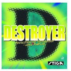 STIGA Destroyer - Okładzina - Czerwony