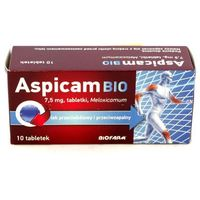 Aspicam BIO 7,5 mg 10 tabl.