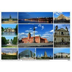 Podkładka na stół CityScape Warszawa Centrum