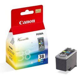 Tusz kolor do Canon iP1800 iP1900 iP2500 iP2600 MP140 MP190 MP210 MP220 MP470 MX300 MX310 / Canon CL-38 oryginalny
