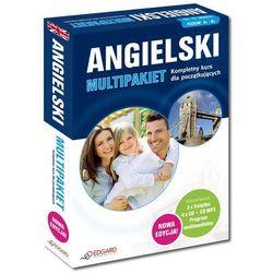 Angielski Multipakiet. Kompletny kurs języka angielskiego dla początkujących + 4CD