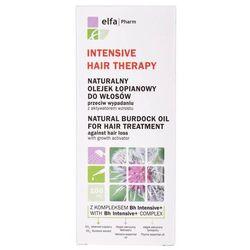 naturalny olejek łopianowy do włosów przeciw wypadaniu