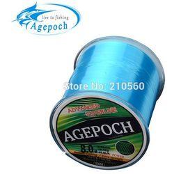 Agepoch 500 m Japan NT30 Material Leader Lead Nylon Monofilament Fishing Line Rope The Peche Cord Wire Peche Carp Winter Thread