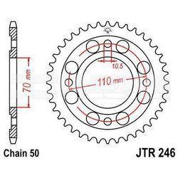 Zębatka tylna stalowa JT 246-41, 41Z, rozmiar 530 2300147 Honda CB 400