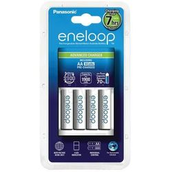 Ładowarka Panasonic Eneloop BQ-CC17 + 4 x R6 AA Eneloop 2000mAh BK-3MCCE