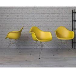 Krzesło P018 inspirowane DAR PP HF - dark olive