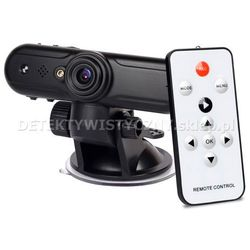 Samochodowy rejestrator trasy z kamerą FULL HD GPS i czujnikiem wstrząsu