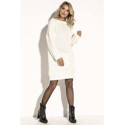9202577016 suknie sukienki biala mlodziezowa sportowa sukienka z kapturem i ...