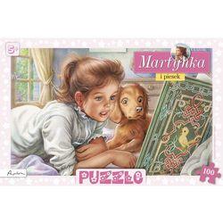 Puzzle Martynka i piesek