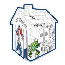 Domek dla dzieci Mochtoys tekturowy Transformers