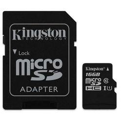 Karta MicroSD Kingston 16GB (SDC10G2/16GB)