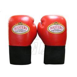 Rękawice bokserskie Masters RBT-60 10 oz czerwone