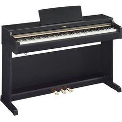 Yamaha YDP 162 Black Arius pianino cyfrowe, kolor czarny Płacąc przelewem przesyłka gratis!