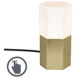 Lampa stołowa Hexagon złota