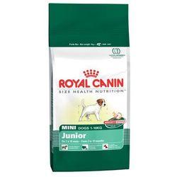 Royal Canin Mini Junior karma dla szczeniąt opakowania 0,5-8kg