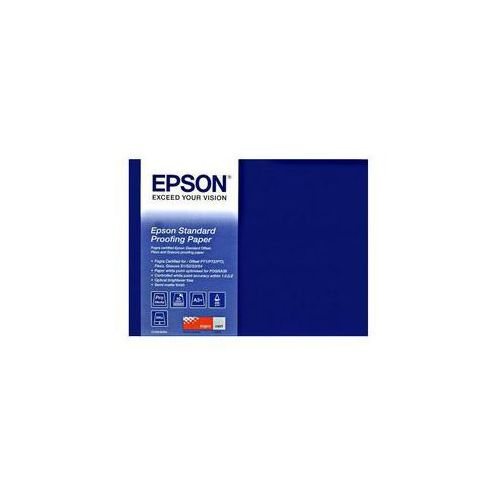 "Epson C13S045007 Standard Proofing Paper, 17"" x 50 m, 205 g/m2"
