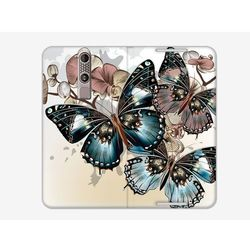 Flex Book Fantastic - ZTE Axon Mini - pokrowiec na telefon - butterflies