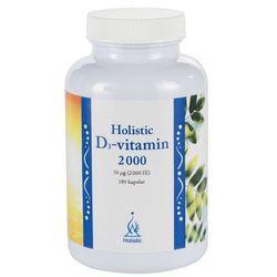Holistic D3-vitamin 2000 180 kapsułek