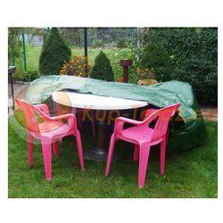 Pokrowiec ochronny na stół ogrodowy i krzesła meble ogrodowe 250x150x80cm