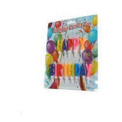 Świeczki urodzinowe - Happy birthday