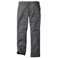 Spodnie ocieplane bonprix dymny szary