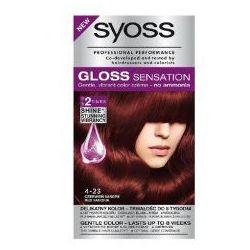 Schwarzkopf Syoss Gloss Sensation Farba do włosów 4-23 Czerwień Sangrii 1op.