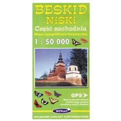 Beskid Niski Część zachodnia mapa 1:50 000 WZKart (opr. miękka)