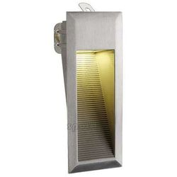 Zewnętrzna LAMPA ścienna DOWNUNDER LED 15 230312 Spotline schodowa OPRAWA wpust IP44 outdoor aluminium szczotkowane
