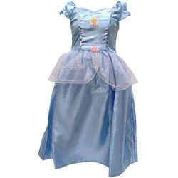 Disney Cinderella Kopciuszek kostium karnawałowy dla dziewczynki Jasnoróżowy