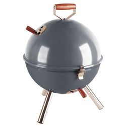 Grill okrągły szary Mini BBQ CO-672061 (śr. 30 cm)